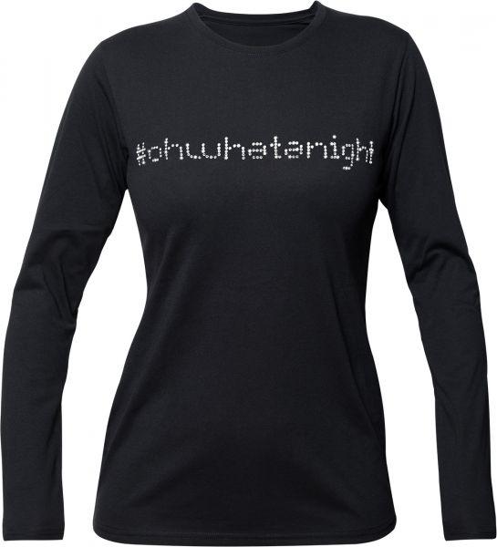 """Longsleeve """"#ohwhatanight"""" Rundhals"""