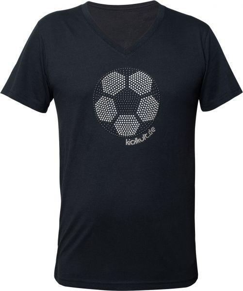 "T-Shirt ""Fußball"" V-Neck"